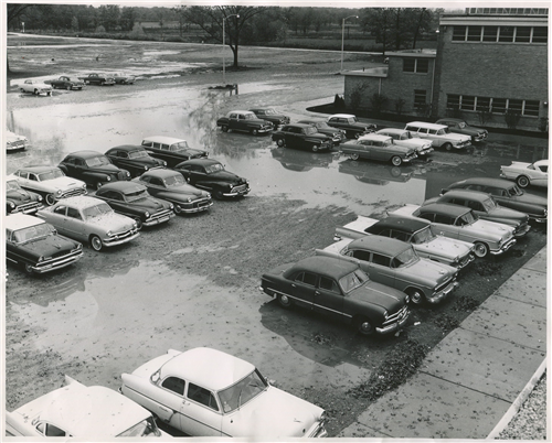 Parking Lot - Middle/High School - Year Unknown