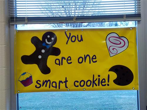 You are one smart cookie!