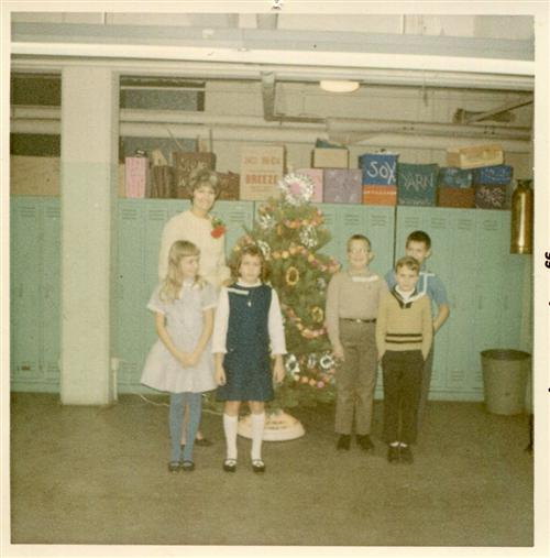 Franklin Christmas Program 1965